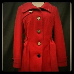 Kenneth Cole winter wool blend Pea Coat